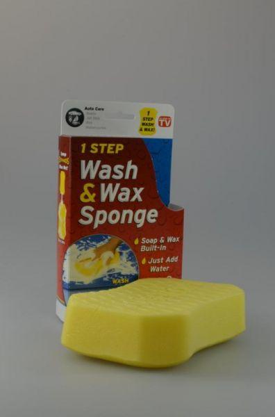 Spongetech - Houba na mytí a voskování aut