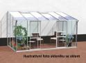 skleník VITAVIA IDA 7800 PC 6 mm stříbrný