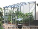 skleník VITAVIA IDA 5200 PC 6 mm stříbrný