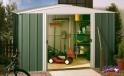 zahradní domek ARROW DRESDEN 108 zelený + PRODLOUŽENÁ ZÁRUKA 120 MĚSÍCŮ