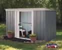 Zahradní domek ARROW PT 104 šedý