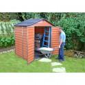 Palram Skylight 6x5 hnědý zahradní domek