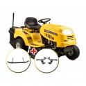 Riwall PRO RLT 92 T POWER KIT zahradní traktor + PRODLOUŽENÁ ZÁRUKA 48 MĚSÍCŮ