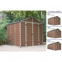 Palram Skylight 8x8 hnědý zahradní domek