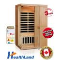 Healthland DeLuxe 2200 Carbon + PRODLOUŽENÁ ZÁRUKA 36 MĚSÍCŮ