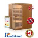 Healthland DeLuxe 3300 Carbon + PRODLOUŽENÁ ZÁRUKA 36 MĚSÍCŮ