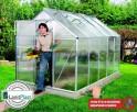 skleník VITAVIA VENUS 6200 PC 4 mm stříbrný