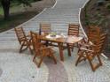 Zahradní stůl RUSTIKA - FSC