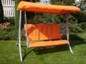 Zahradní houpačka HOLLYWOOD - oranžová