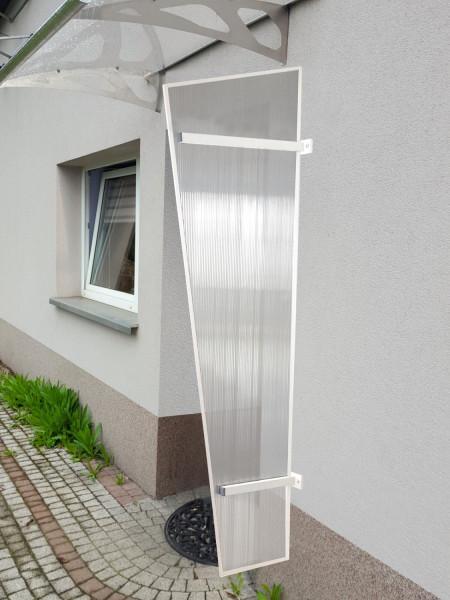 LanitPlast univerzální boční stěna LANITPLAST UNI bílá / PC