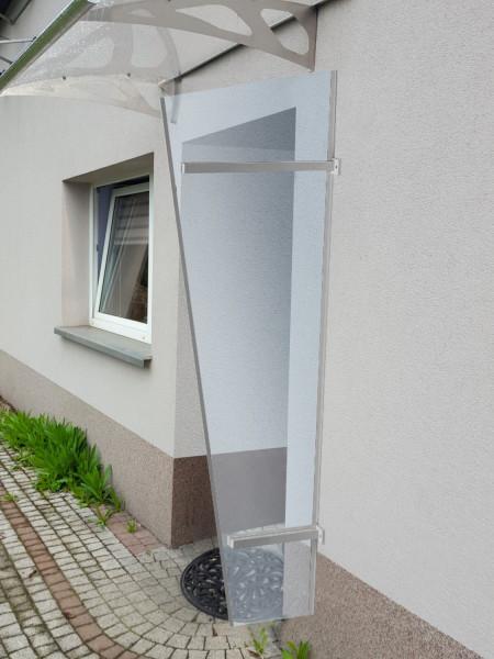 LanitPlast univerzální boční stěna LANITPLAST UNI stříbrná / PLEXI