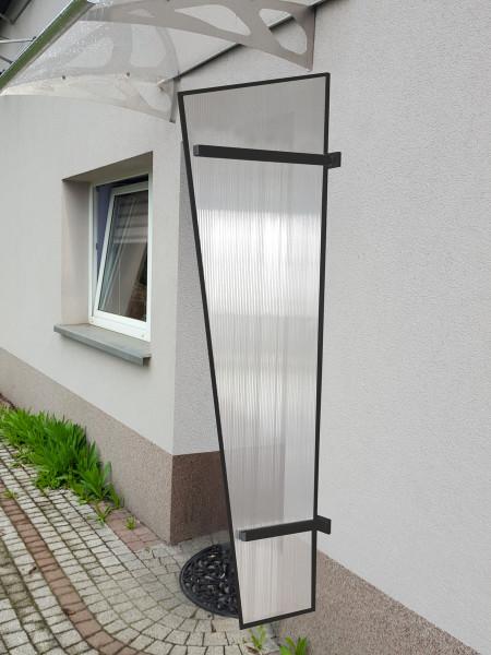LanitPlast boční stěna LANITPLAST UNI antracit / PC