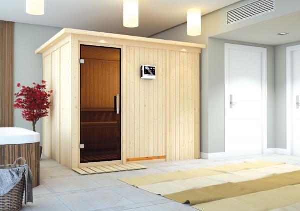 LanitPlast finská sauna KARIBU GOBIN (59652)