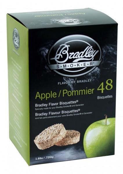 Jabloň 48 ks - Brikety udící Bradley Smoker