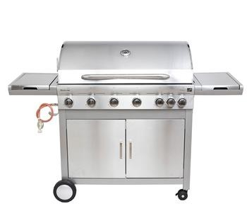Plynový gril G21 Mexico BBQ Premium line, 7 hořáků + zdarma redukční ventil+ grilovací jehla