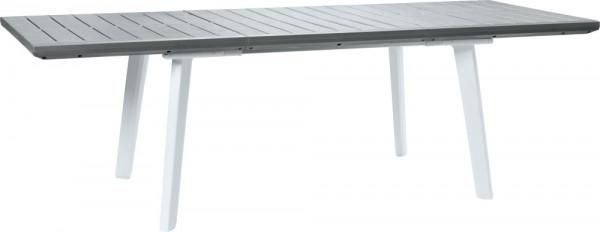 Zahradní stůl Keter Harmony rozkládací bílý / světle šedý