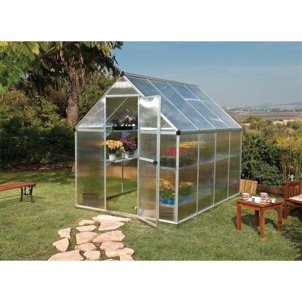 Palram multiline 6x8 - polykarbonátový skleník