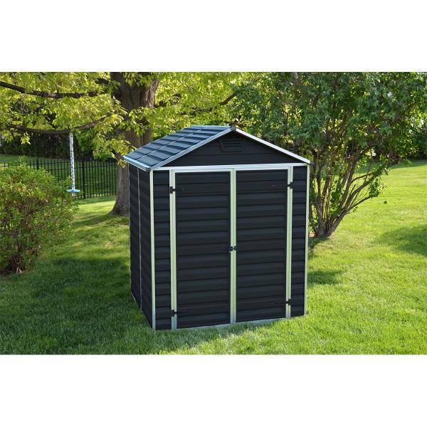 Palram Skylight 6x5 antracit zahradní domek