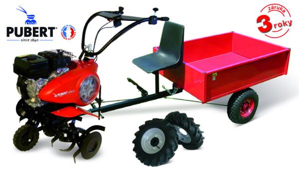 PUBERT SET3 kultivátor s vozíkem VARIO P
