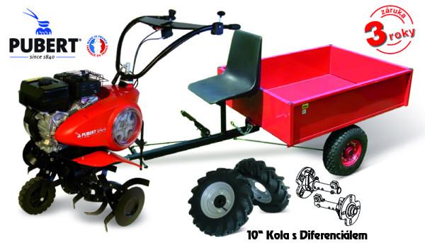 PUBERT SET5 kultivátor s vozíkem VARIO P