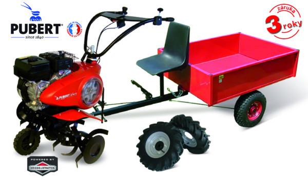 PUBERT SET6 kultivátor s vozíkem VARIO B
