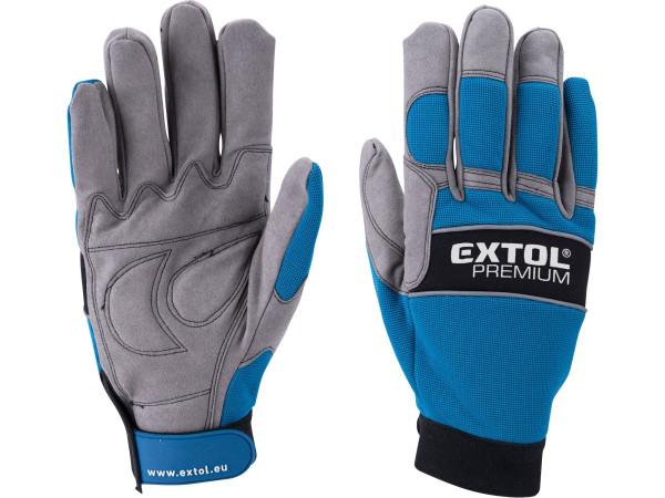 """rukavice pracovní polstrované, velikost XXL/12"""""""