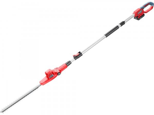 Extol Premium 8895732 nůžky na živé ploty aku, teleskopické 2,78m, 20V Li-ion, 2000mAh