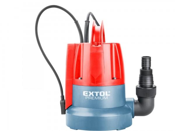 Extol Premium 8895014 čerpadlo ponorné, pro čerpání do sucha, 400W