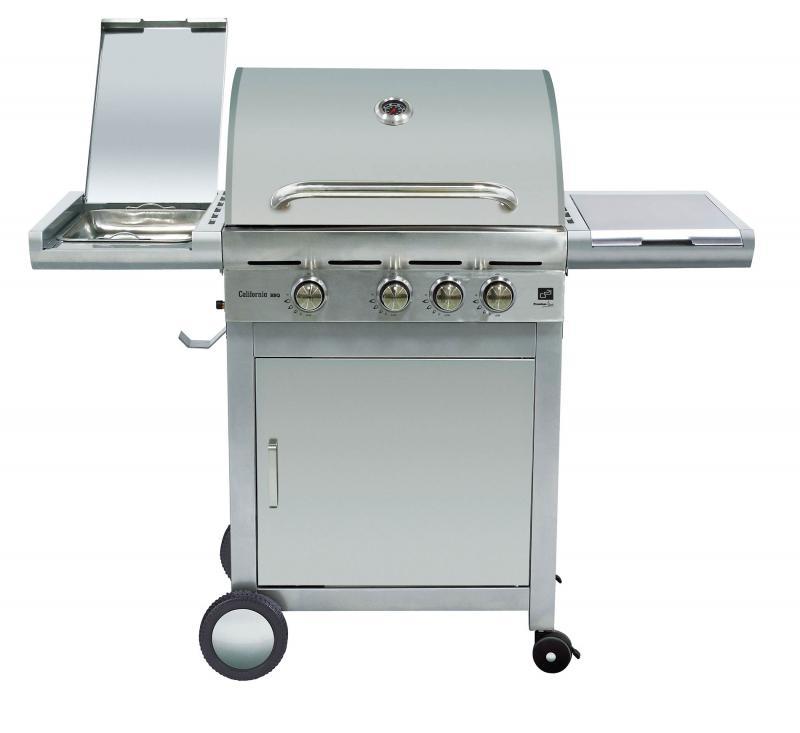 Plynový gril G21 California BBQ Premium line, 4 hořáky+ SADA NA PŘIPOJENÍ + PRODLOUŽENÁ ZÁRUKA 48 MĚSÍCŮ