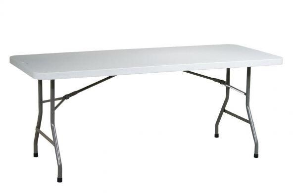 Cateringový plastový stůl skládací - délka 180cm